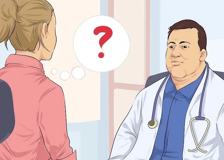 مشورت با پزشک درمان فیشر مقعد پس از زایمان