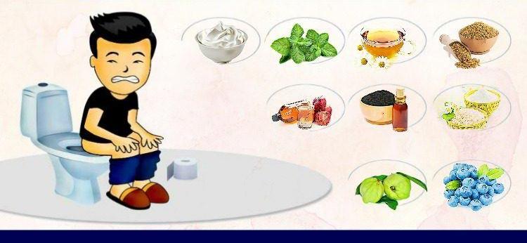 مواد غذایی برای بهبود اسهال