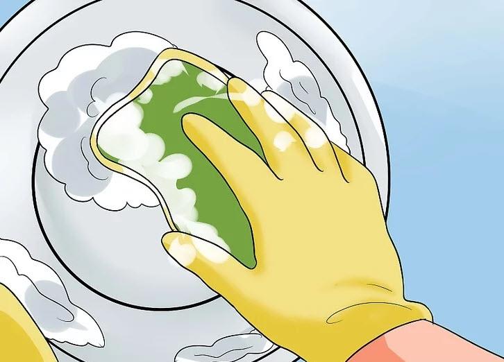 تمیز کردن تشت سیتز